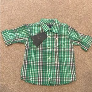 NWT 2T Tommy button down